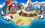 Puffle Party 2015 Beach