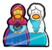 Anna and Elsa Pin icon
