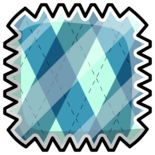 Argyle Pattern Pin icon