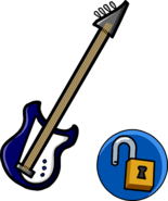 Blue Electric Bass unlockable icon