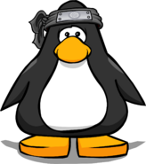 Black Ice Headband from a Player Card