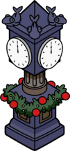 Holiday Station Clock