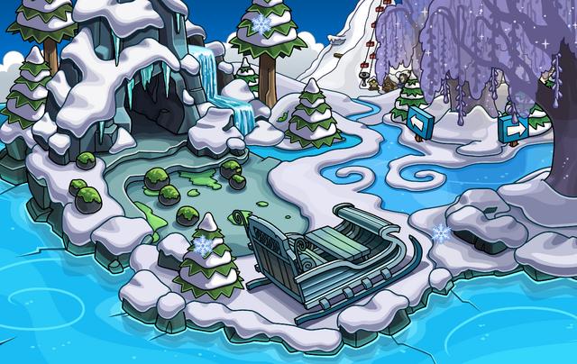 File:Frozen Party Beach frozen.png