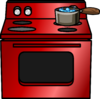Shiny Red Stove sprite 002