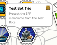Test bot trio stamp book
