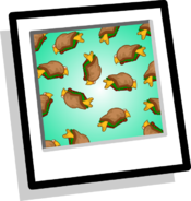 Fluffy Sandwich Background Icon