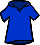 Old Blue Polo Shirt