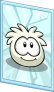 White Puffle Poster sprite 003