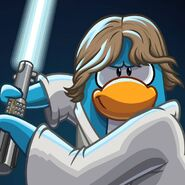 Luke Skywalker Icon Facebook July 2013 CLUB PENGUIN