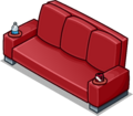 Red Designer Couch sprite 008