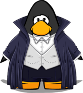 Classic Vampire Costume from a Player Card