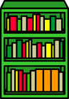 Green Bookcase sprite 002