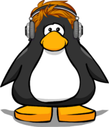 Redhead Headphones from a Player Card
