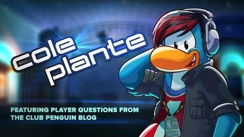 Club Penguin Behind the Scenes with Cole Plante