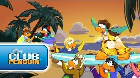 Club Penguin Teen Beach Movie Summer Jam - Official Trailer