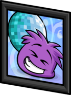 Purple Puffle Picture sprite 003