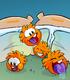 Orange Puffle card image
