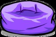 PurpleBeanbagChair1