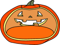 Jack O' Lantern igloo icon ID 20
