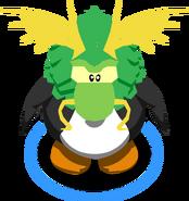 Swamp Monster Mask in-game