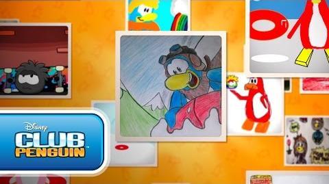 Featured Fan Art April 2015 - Disney Club Penguin