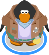 Puffle Trainer Outfit in-game