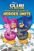 Disney Club Penguin Shadow Guy and Gamma Gal Heroes Unite