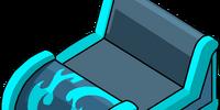 Blue Coaster Cart