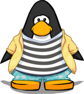 High Seas Fashion on a Player Card