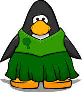 Shamrock Dress from a Player Card