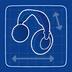Blueprint Headphones icon