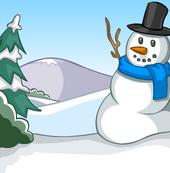 Snowman Background
