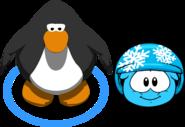 Puffle Hats snowflakehelmet in game