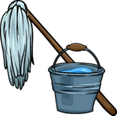 Mop and Bucket icon