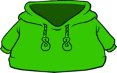 Green O'berry Hoodie icon