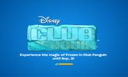 Frozen Party logo screen