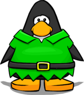 Elf Suit from a Player Card