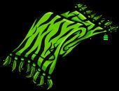 Green Zebra Scarf clothing icon ID 3116