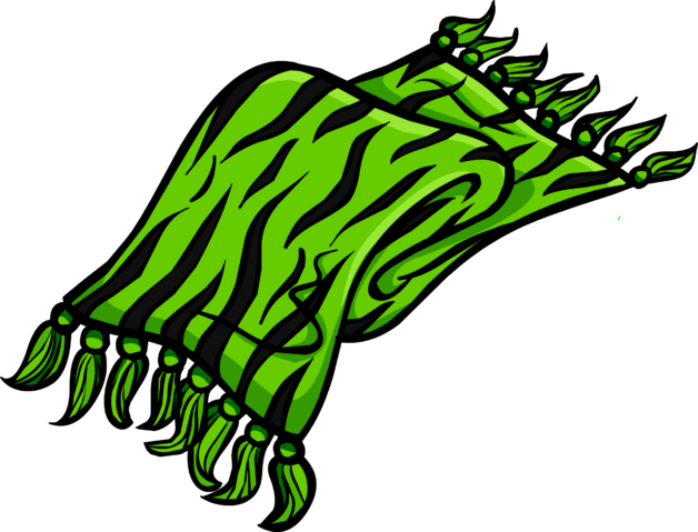 File:Green Zebra Scarf clothing icon ID 3116.png