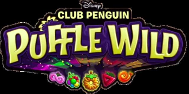 File:Puffle Wild Logo.png