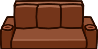 Brown Designer Couch