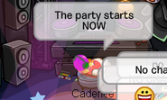 Cadence spotted in Arctic