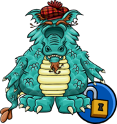 Loch Ness Costume Item