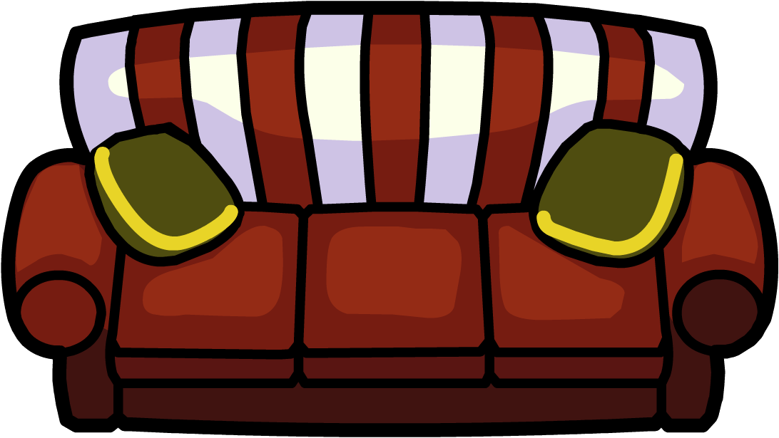 Holly jolly couch club penguin wiki fandom powered by for Mueble animado