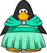 Seafoam Dress on Player Card