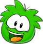 Operation Puffle Post Game Interface Puffe Image Green