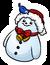 Snowman Pin