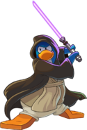 Newspaper Issue 482 Purple Lightsaber Penguin