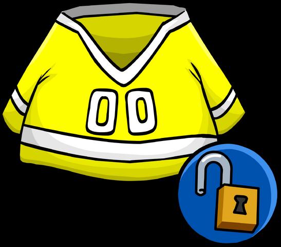 File:YellowHockeyJersey.png