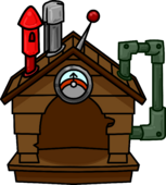 Brown Puffle House 2011